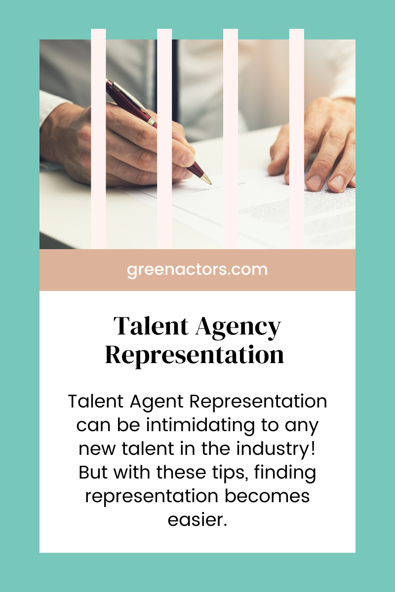 Talent Agent Representation
