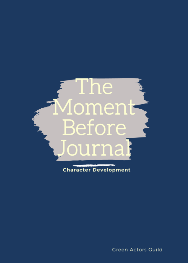 Cover for Moment Before Journal